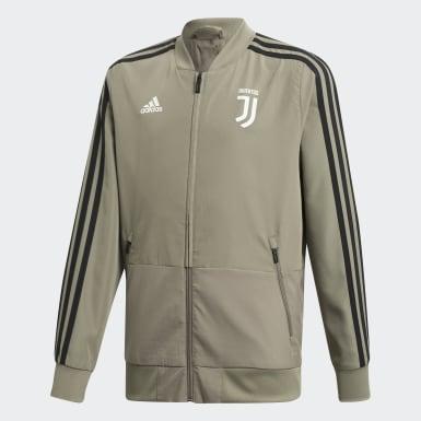 Juventus presentasjonsjakke Brun