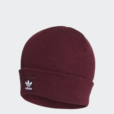 Originals Burgundy Adicolor Cuff Beanie