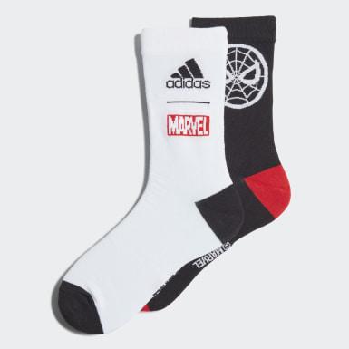 เด็ก ไลฟ์สไตล์ สีดำ ถุงเท้า Marvel Spider-Man