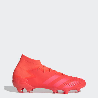Chaussure Predator Mutator 20.1 Terrain souple Rouge Football