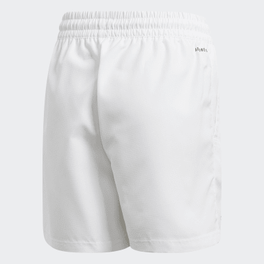 B CLUB SHORT Blanco Niño Tennis