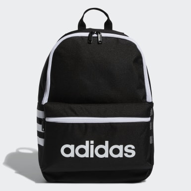 Children Essentials Black Classic 3-Stripes Backpack