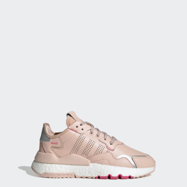 Youth 8-16 Years Originals Pink Nite Jogger Shoes