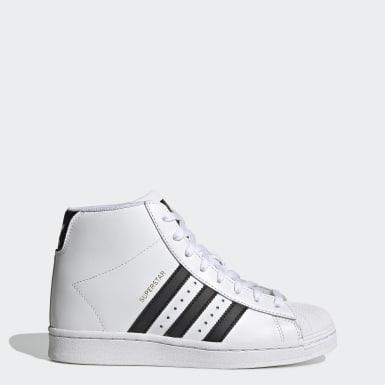 ผู้หญิง Originals สีขาว รองเท้า Superstar Up
