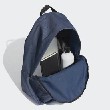 ไลฟ์สไตล์ สีน้ำเงิน กระเป๋าเป้ Classic Big Logo