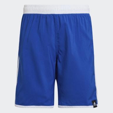 Chlapci Plávanie modrá Plavecké šortky 3-Stripes
