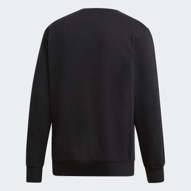 Sweatshirt 3-Stripes Essentials Preto Homem Treino