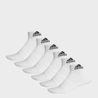 Socquettes Ankle (lot de 6paires) blanc Entraînement