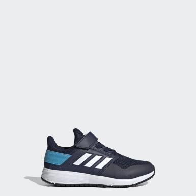 Kinder Running FortaFaito Top Strap Schuh Blau