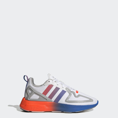 Youth 8-16 Years Originals White ZX 2K Flux Shoes