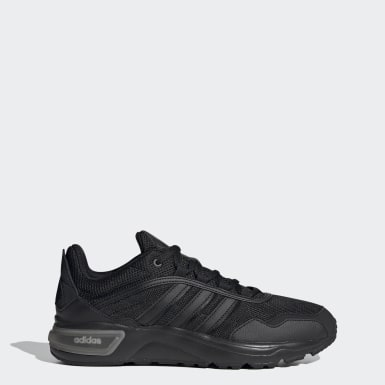 Essentials Black 90s Runner Shoes