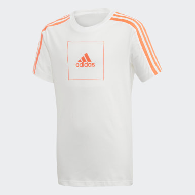 T-shirt adidas Athletics Club Bianco Ragazzo Athletics