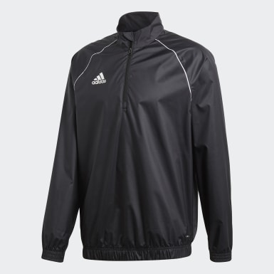 Men Training Black Core 18 Windbreaker