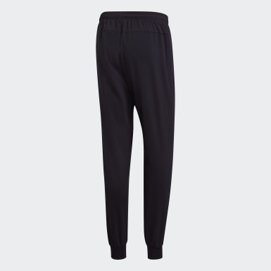 Pants Essentials Plain Tapered Stanford Negro Hombre Training
