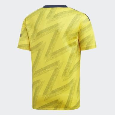 желтый Гостевая игровая футболка Арсенал