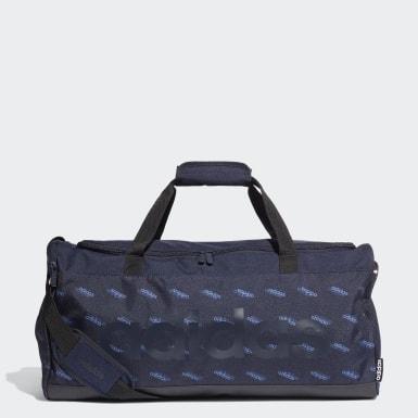 Mala Duffel Linear Logo Azul Training