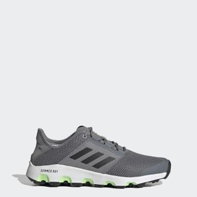 Men TERREX Grey Terrex Voyager Water Shoes