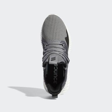 Men Running Grey Alphabounce Instinct Clima Shoes
