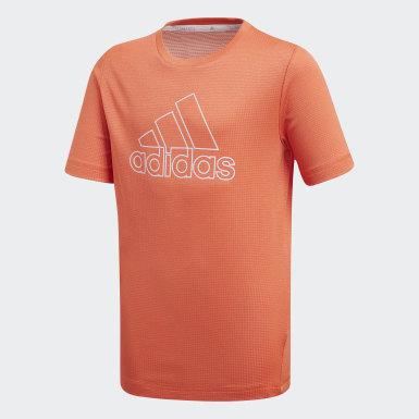 оранжевый Футболка Climachill