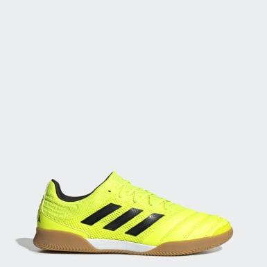 Chuteira Copa 19.3 Sala Futsal Amarelo Homem Futebol