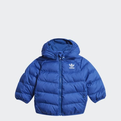 Kids Originals Blue Real Down Jacket