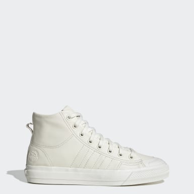Sapatos Nizza Hi RF Bege Mulher Originals