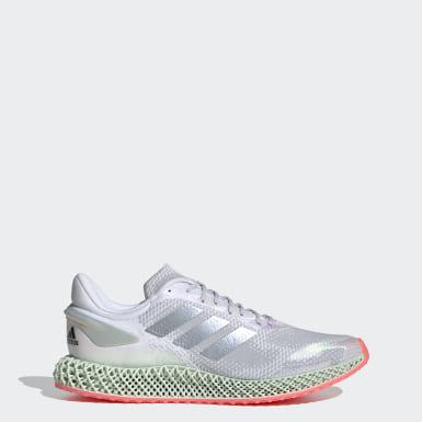Hardlopen Wit adidas 4D Run 1.0 Schoenen