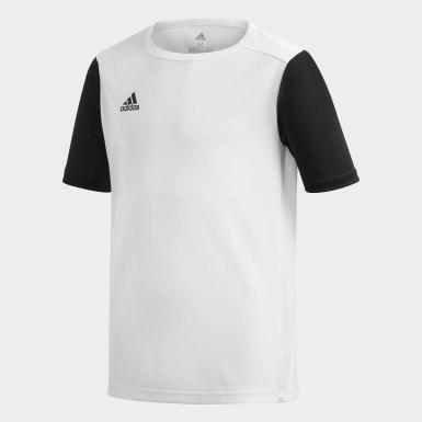Camisa Estro 19 Branco Meninos Futebol