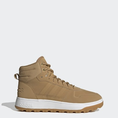 Men Basketball Brown Frozetic Boots