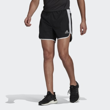Men Running Black Marathon 20 Shorts