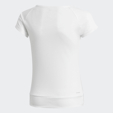 Youth Training White Gear Up Tee
