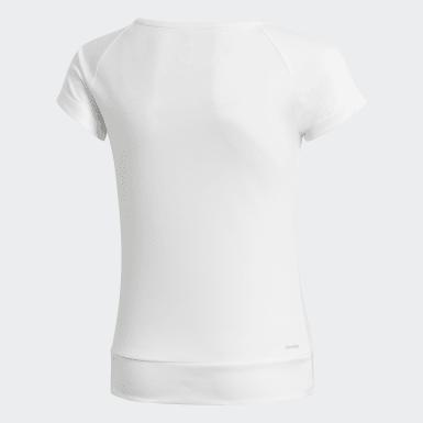 Dívky Trénink bílá Tričko Training Gear Up