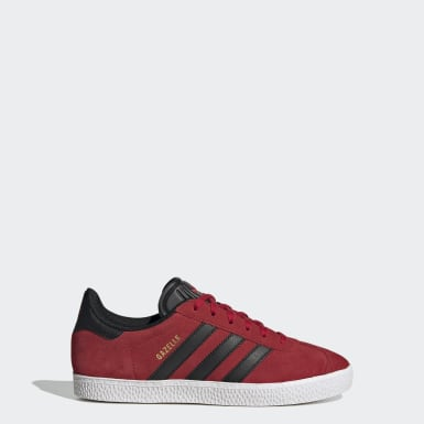 Kids Originals Red Gazelle Shoes
