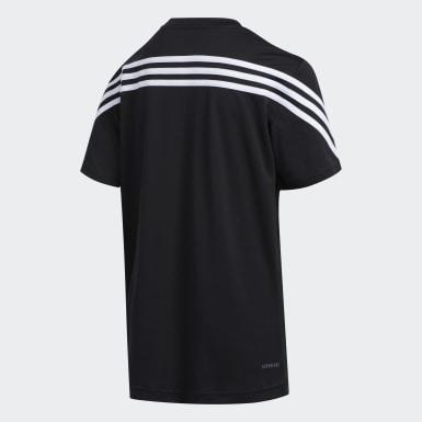 T-shirt AEROREADY noir Enfants Entraînement