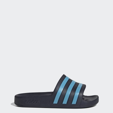 Athletics Blue Adilette Aqua Slides