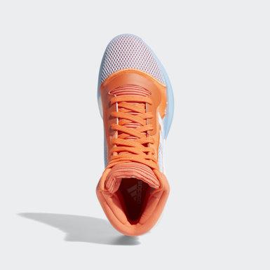 Frauen Basketball Marquee Boost Schuh Orange