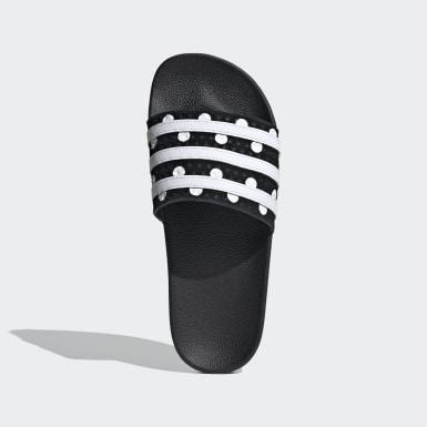 ผู้หญิง Originals สีดำ รองเท้าแตะ Adilette
