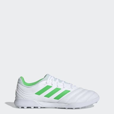 Soccer White Copa 19.3 Turf Shoes