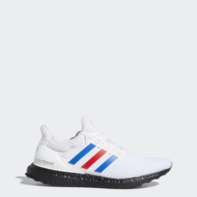 Men's Running White Ultraboost Shoes