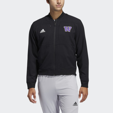 Men's Athletics Multicolor Huskies Under the Lights Bomber Jacket
