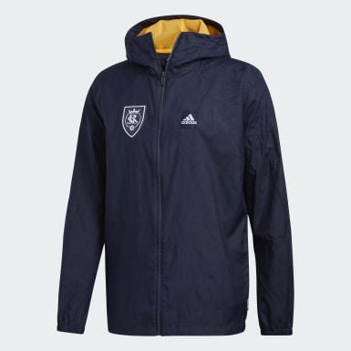 Real Salt Lake adidas W.N.D. Primeblue Jacket