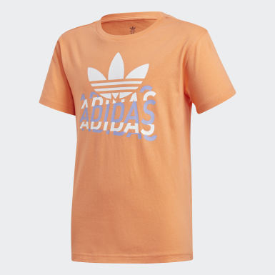 Kinder Originals Graphic T-Shirt Orange