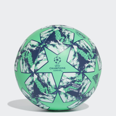 ผู้ชาย ฟุตบอล สีเขียว ลูกฟุตบอล UCL Finale 19 Real Madrid Capitano