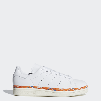 Women Originals White Stan Smith New Bold Shoes