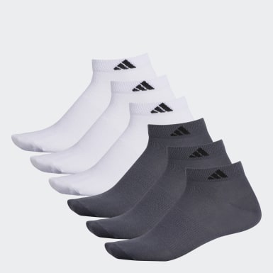 Men's Training White Superlite Low Socks 6 Pairs