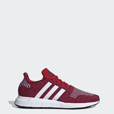 Men's Originals Burgundy Swift Run Shoes