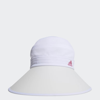 Women Golf White 2WAY UV CAP