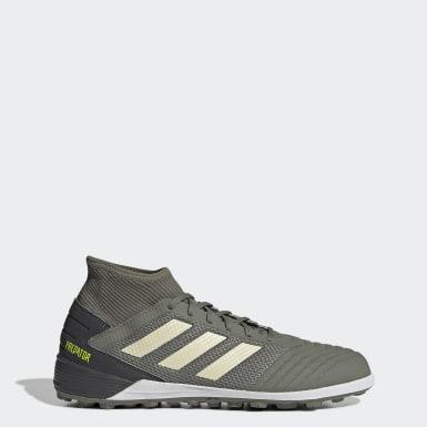 Men Football Green Predator TAN 19.3 Turf Boots