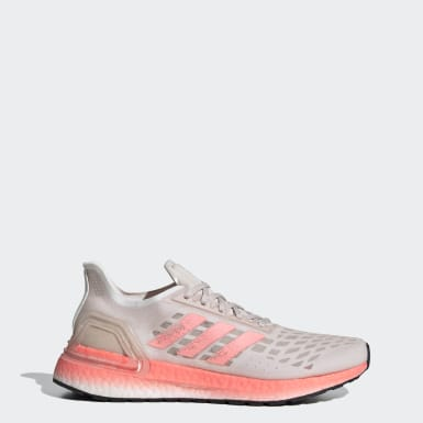 Sapatos Ultraboost PB Rosa Mulher Running