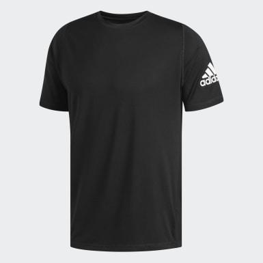 Men Yoga Black FreeLift Sport Ultimate Solid Tee
